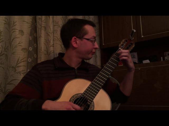 J. S Bach - Suite for Lute in E minor BWV 996 Bourre   Исполняет: Ученик (Андрей Кольго)