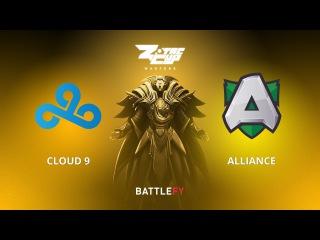 Cloud 9 vs Alliance, Game 3, Zotac Cup Masters, EU Qualifier