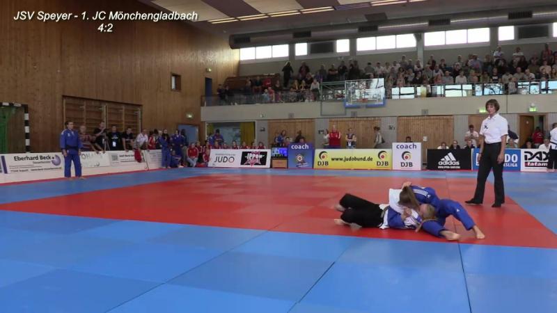 Bundesliga-Finalrunde der Frauen_ Halbfinale - JSV Speyer vs. 1. JC Mönchengladbach - Judo_2