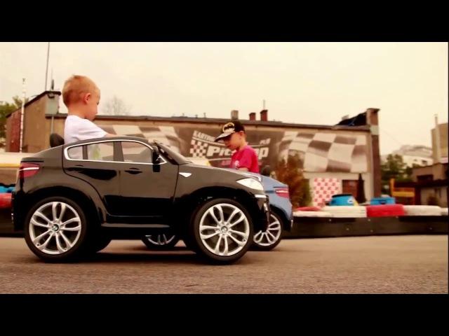 Детский электромобиль BMW X6 Лицензия