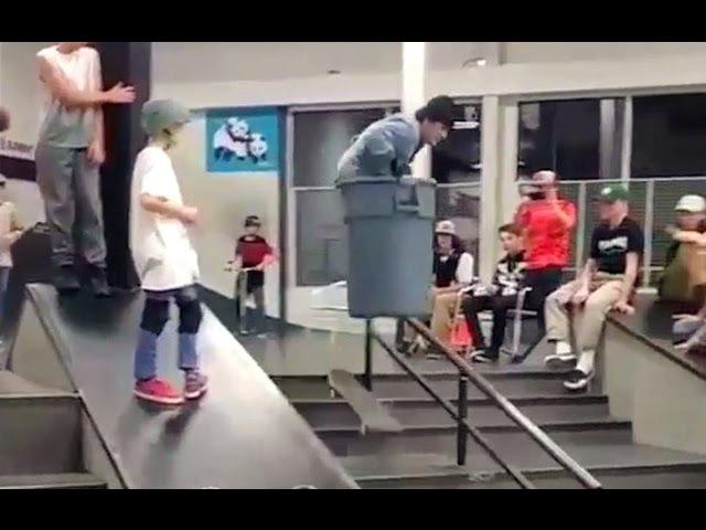 INSTABLAST! - Trashcan TO RAIL! Gonz Skateboarding, Noseblunt POOL! Crazy B/S Heel Flip Late Shuv