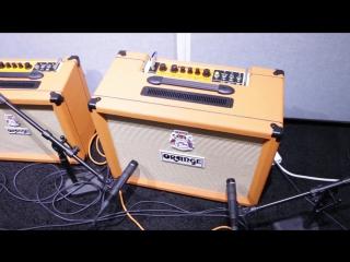 Orange Amplifications New Rocker 15  32, KongPressor, and Acoustic Preamp - NAMM 2017 - GEAR GODS