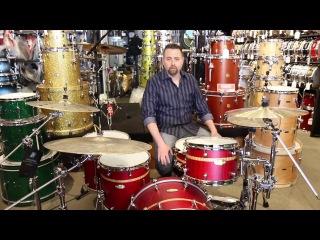 Pearl Masterworks 2017 Catalog Drum Set - Video Demo