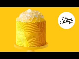 () GEOMETRIC BEYONCÉ #LEMONADE CAKE - The Scran Line
