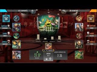 Finals  G2 ESPORTS vs SK GAMING [ Part 2] Vainglory 8 EU Autumn 2017 Week 2 Split 1