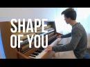 Ed Sheeran - Shape of You (Piano cover) - Peter Buka