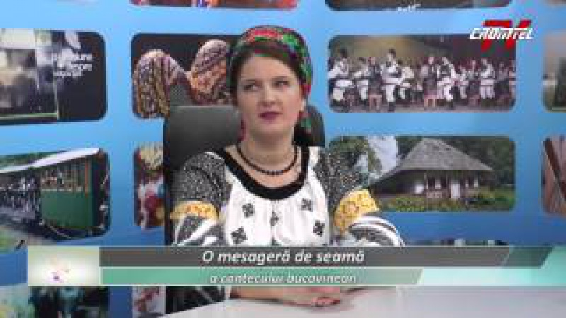 Dor de folclor bucovinean - Invitat Adriana Bucevschi