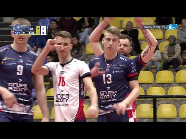 CLVolleyM - 4th Round Leg 6 - ISTANBUL BBSK vs Zaksa KĘDZIERZYN-KOŹLE
