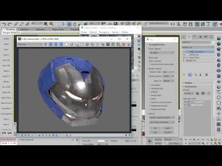 Shading A Hard Surface Model 2016: Texturing A Robotic Mask