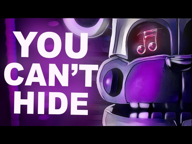 FNAF SISTER LOCATION SONG   You Cant Hide by CK9C [Official SFM]