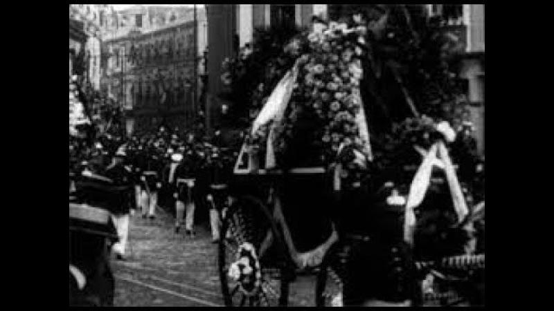LOS FUNERALES DEL PRESIDENTE MONTT 1911