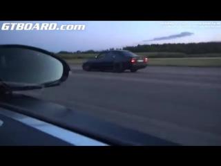 Bugatti Veyron 16.4 vs BMW M5 E34 900 __ Бугатти 16.4 с БМВ М5 Е34 900