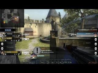de_cbble CS:GO INSANE FULL ECO ACE -5 usp/AK