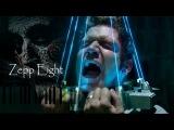 JIGSAW - Zepp Eight (HELLO ZEPP) Synthesia Piano Tutorial (100%) by Iwan Hoffman (2017)