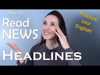 How to Read News Headlines and Improve Your English 📰 Learn with JenniferESL