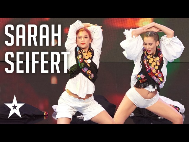 Sarah Seifert twerks│Ples│Supertalent Hrvatska 2017 │Polufinale