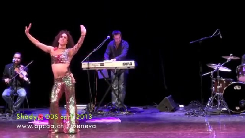 Shady Sultan Oriental Dance Show of Geneva 2013 by APCAA Hayat Zahi 8049