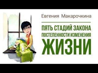 Евгения Макарочкина | ПЯТЬ СТАДИЙ ЗАКОНА ПОСТЕПЕННОСТИ ИЗМЕНЕНИЯ ЖИЗНИ