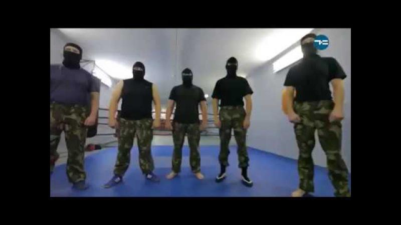 видеоросгвардия Отбор в СОБР Экзамен при поступлении на службу