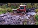 Тракторы Т 40 ДТ 75 К 700 и др на бездорожье На трактор надейся а сам не плошай Под