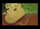 Crochet Tutorial Tas Rajut Pesta - Bobble Stitch