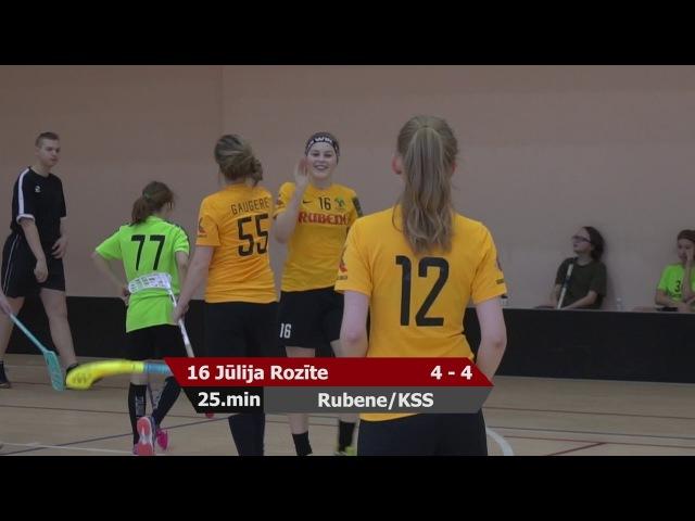 MU16: Ķekavas Bulldogs - Rubene/KSS 6:11 (14.03.2018)
