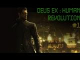 Deus ex: Human revolution. Часть 1.