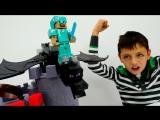 Осада Замка ЭндерДракона  Спасаем Стива #Майнкрафт Видео для детей Игрушки #ЛегоМайнкрафт