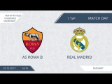AFL17. Futsal. Day 1. Roma B - Real Madrid. second half
