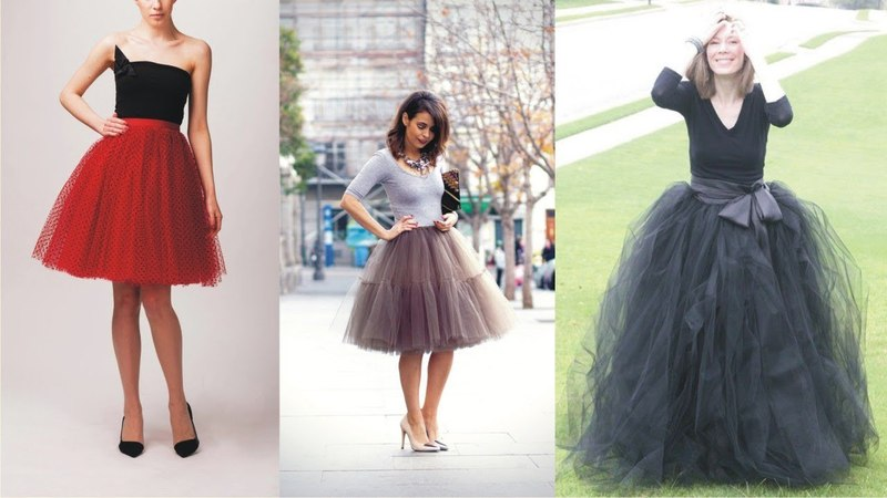 Impressive Tulle Skirts For Adults