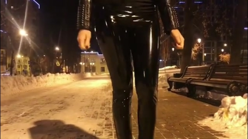 Walk in latex