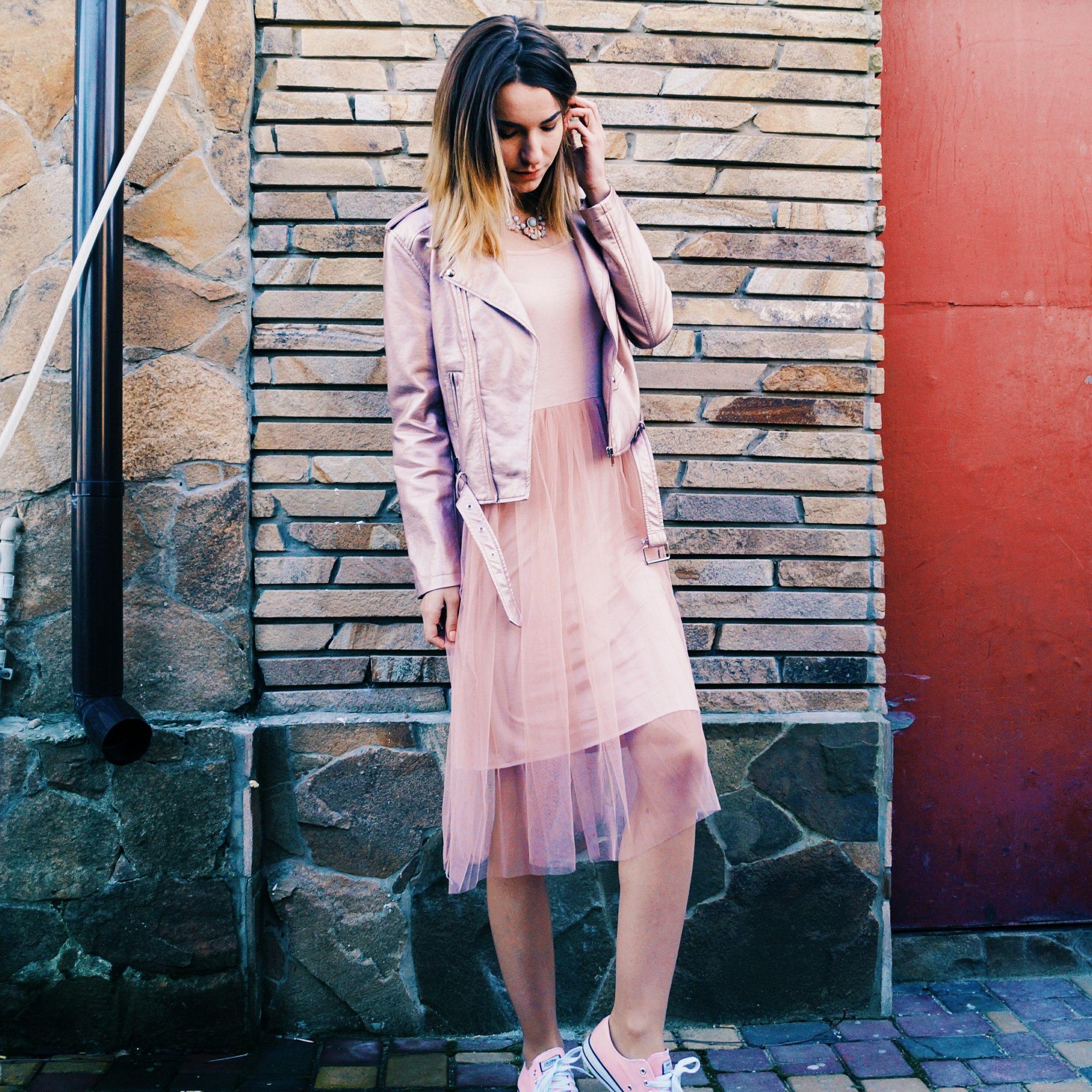 ЭТО ХИТ Воздушное платье с фатиновой юбкой на весну - лето