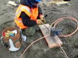 Термитная сварка CADWELD@ - Т-соединение двух проводников