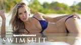 Olivia Jordan Wears Nothing But Her Bikini Bottoms | Intimates | Sports Illustrated Swimsuit
