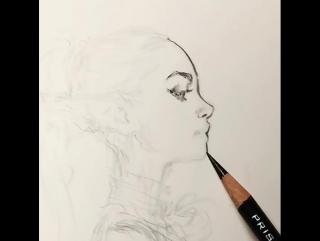 Drawing by Daniel Landerman