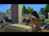 Мой первый порноролик по мотивам игры The Sims 4. Часть 2