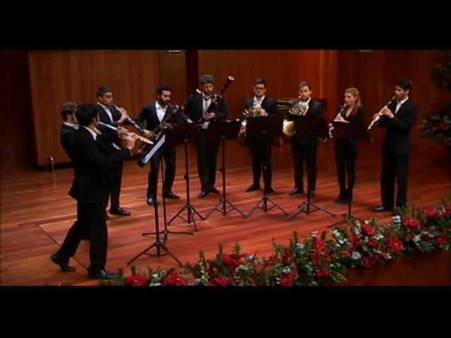 G.Donizetti. Symphony for winds in g minor. GRUPO HARMONIE