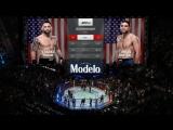 UFC 222 Frankie Edgar vs Brian Ortega