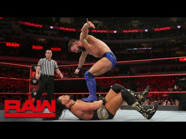 [BMBA] The Bálor Club vs. The Miz The Miztourage: Raw, March 19, 2018
