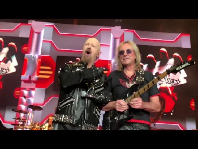 Judas Priest Glenn Tipton Firepower Tour Premiere 2018