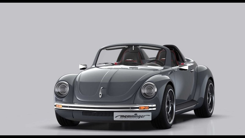 Life Car TV - Memminger Roadster 2.7 Is A Mid-Engined, High-Performance Beetle