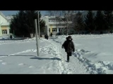 тренировка на снегу (8)Кадетский корпус