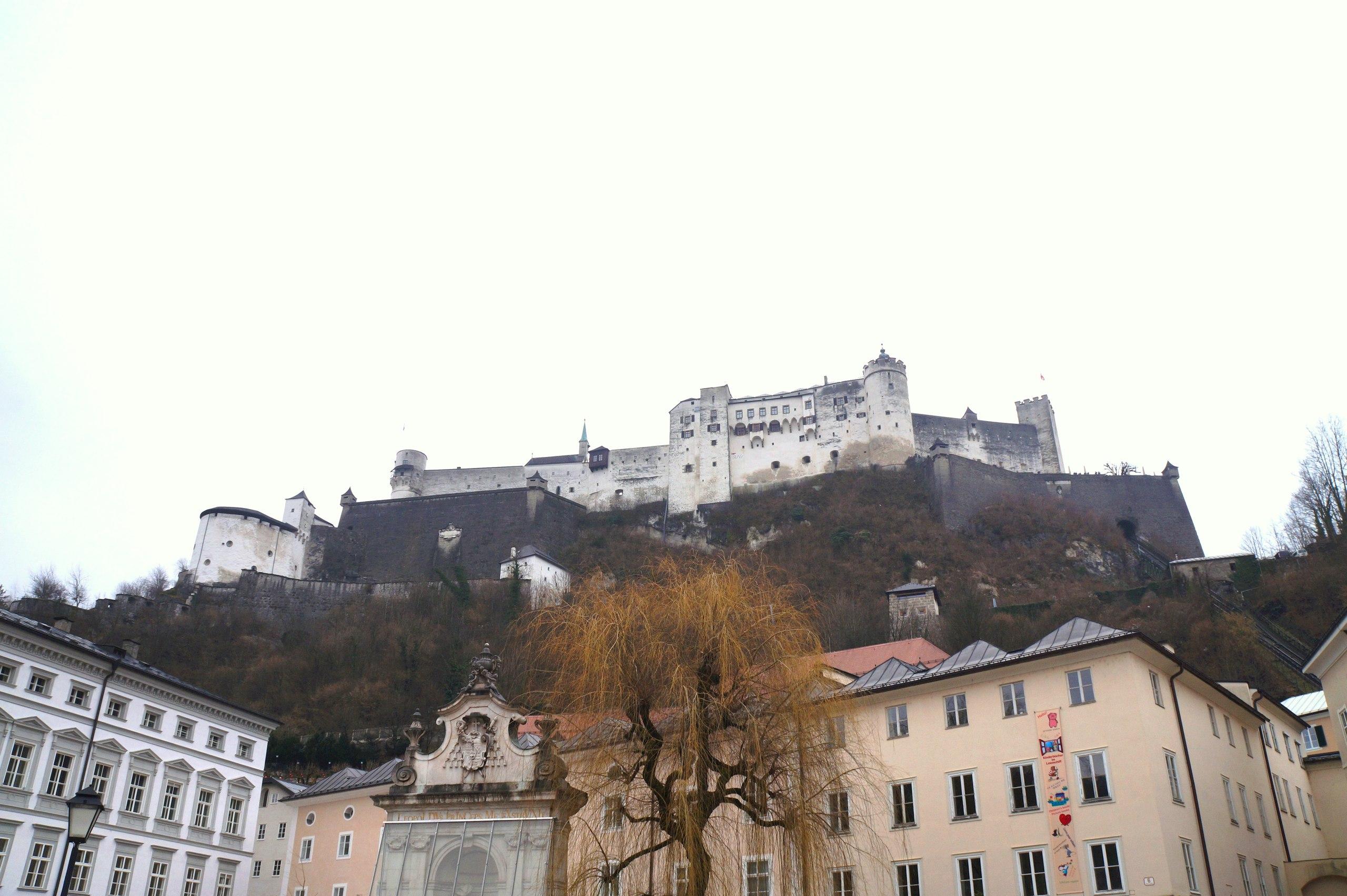 Великая крепость Хоэнзальцбург и ее музеи