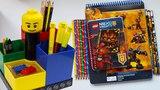 LEGO КАРАНДАШИ И БЛОКНОТЫ НА СПИРАЛИ канцелярия лего