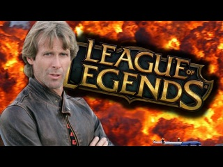 League of Legends directed by Michael Bay