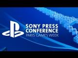 [Стрим] PlayStation на Paris Games Week 2017
