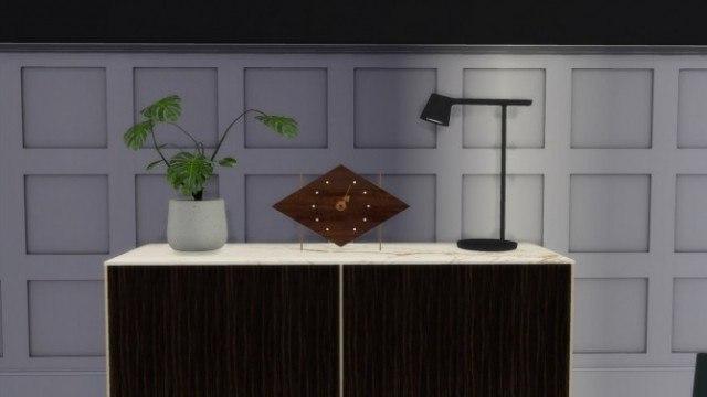 Diamond Clock by Meinkatz Creations