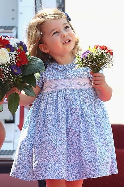 Принц Уильям рассказал о модных пристрастиях дочери Шарлотты
