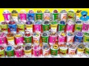 43 Сюрпризов Вкусномама,Unboxing Toys Маша и Медведь,Тачки,Трансформеры,My Little Pony и Феи
