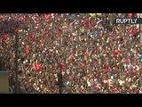 Акция памяти «Бессмертный полк» в Москве — LIVE